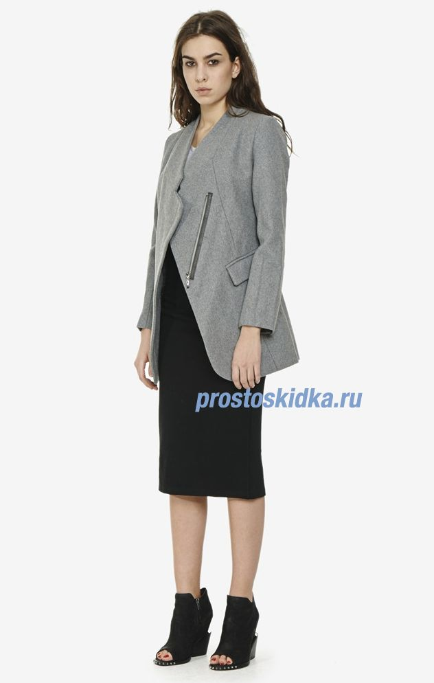 Пальто Trends Brands S14-SORORITY-CO-240-Grey