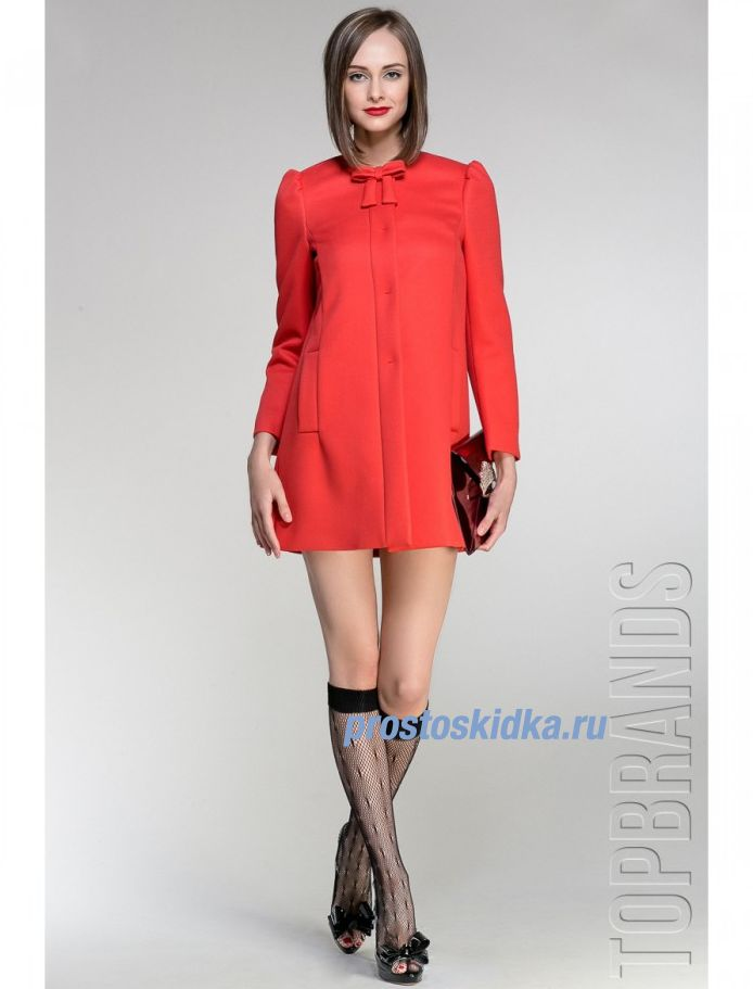 Red Valentino Пальто Sf-hr337115 RED VALENTINO